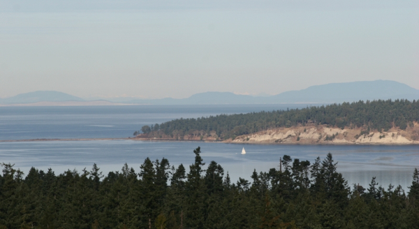 sequim home with water view